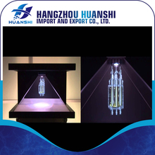 "270 degree 19"" 3d pyramid holographic display for <strong>Advertising</strong>"