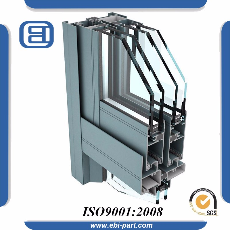 Extruded Aluminum Profile for Furniture to Make Doors and Windows
