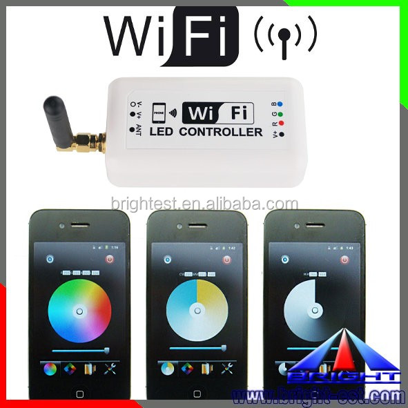 new led strip led module single color RGB mini wifi led rope light remote controller