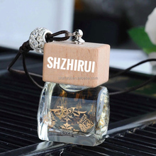 Factory price hanging Perfume Bottle Scents Car Air Freshener