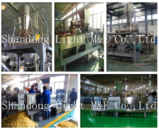 Puff Snack Food machine Corn Puff Snack Extruder Puffed Rice Process Line