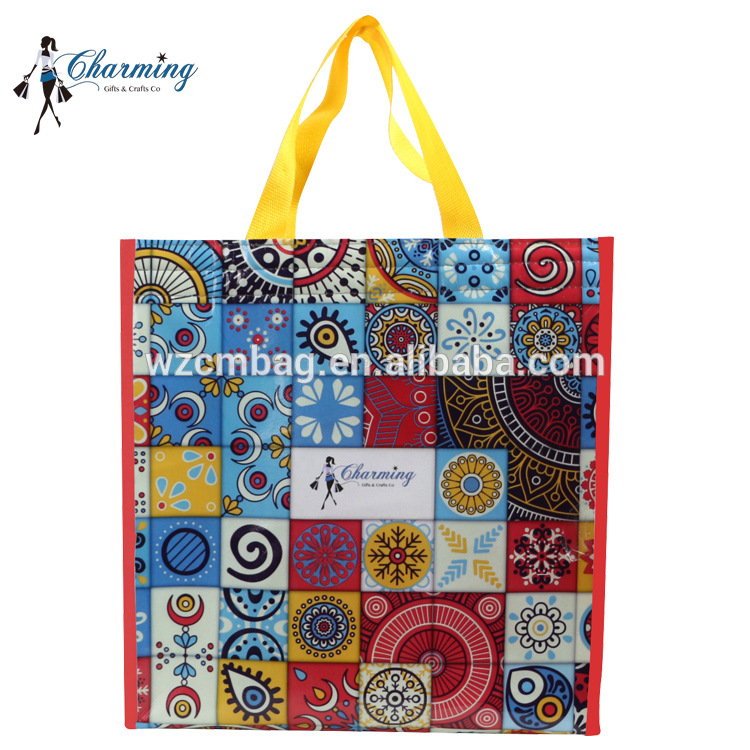 120gsm Laminated Non Woven Shopping Bag