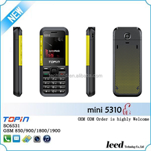 the original latest china mobile phone 1.44inch 10colors dual sim card shenzhen telephone Mini5310