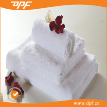 Ultra soft cut pile white cotton small hand towels