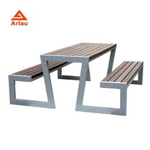 Arlau WPC Wood Table Sets, Garden Outdoor <strong>Furniture</strong> OEM