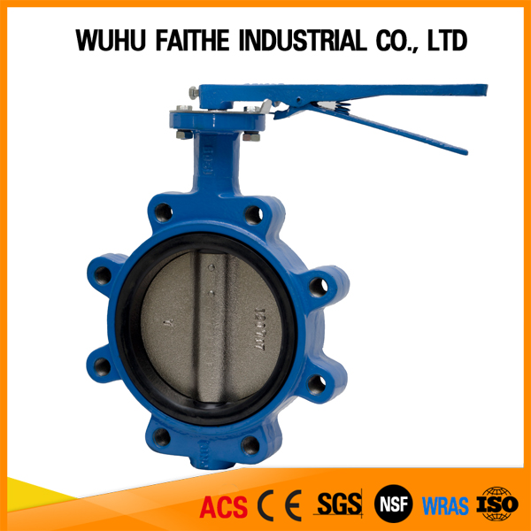 China Supplier Long Neck Butterfly Valve