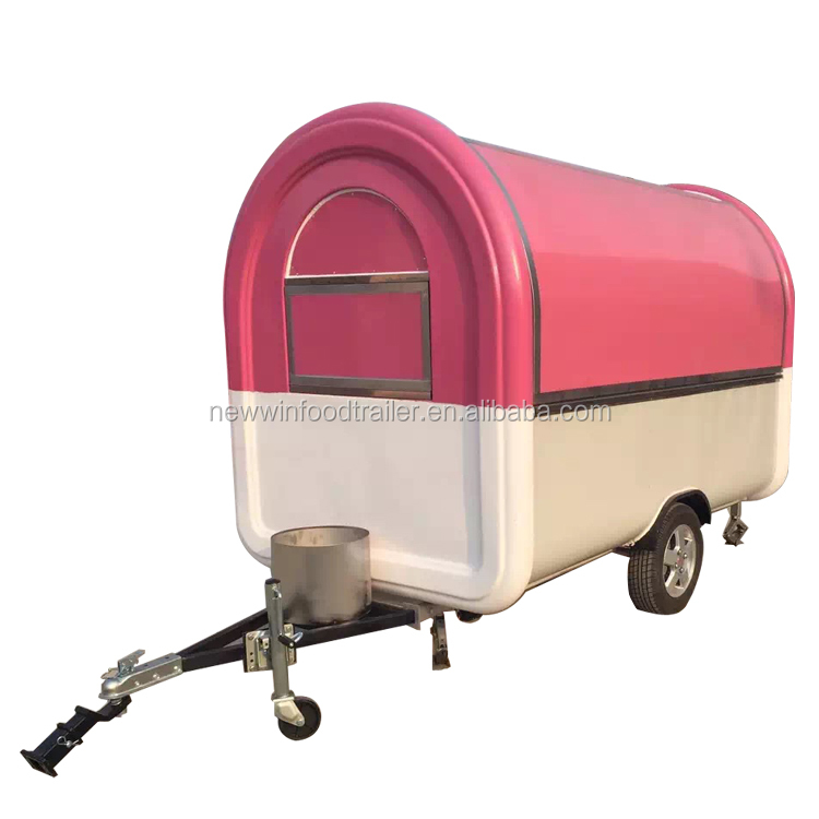 Hot sales mobile ice cream cart food cart trailer