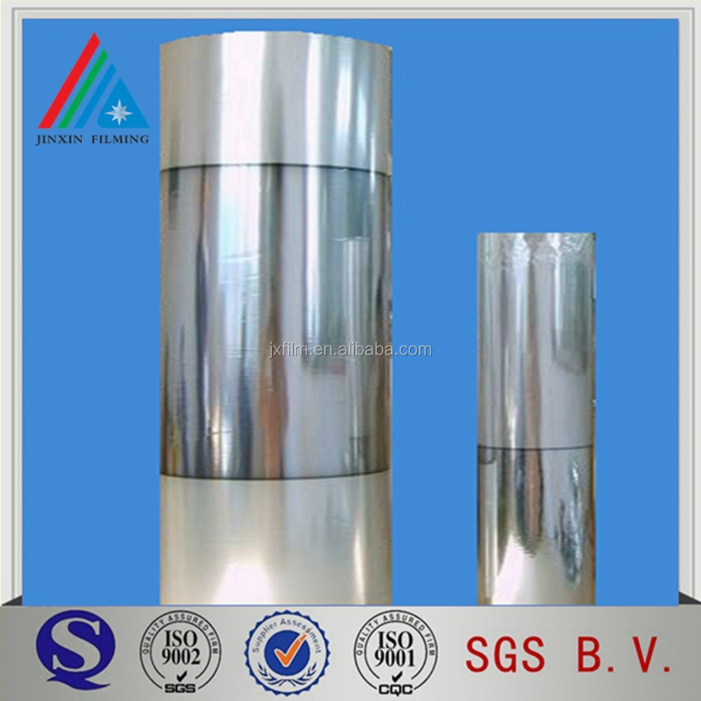 Low Deviation Single Visible Half Metallized PET Film For Food Package