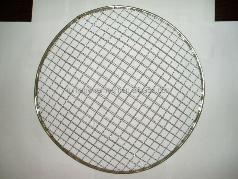 galvanized barbecue grill wire mesh/BBQ Grill Netting price(factory)
