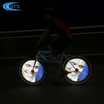 Bike Wheel Lights Waterproof Bicycle Lights Cycling Led Bicycle Accessories Wheel Light