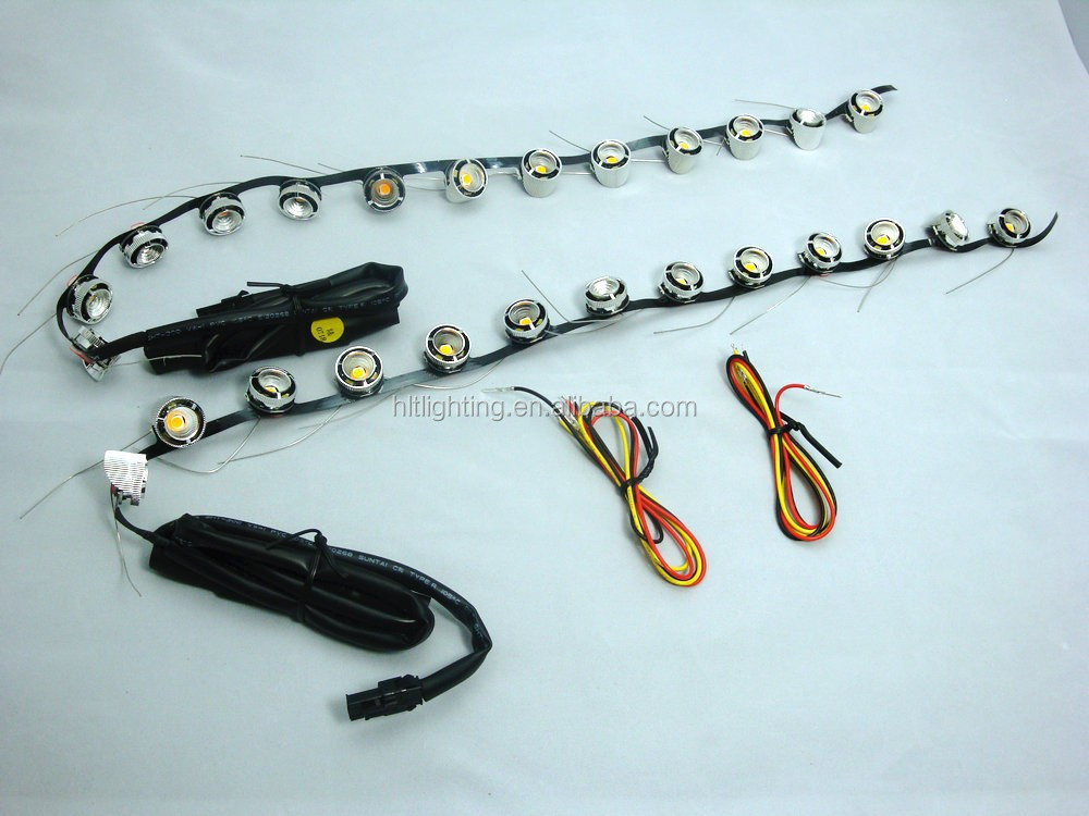 2014 factory price signal tuning lights flexible 85cm 50 cm K5 drl