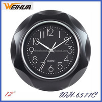 Black color kitchen scale clock with promtional