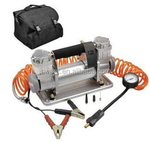 H90084 DC 12V Air Compressor with Double steel cylinder W/150L