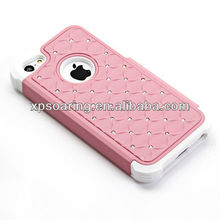 Fashion Bling bling case for apple iphone 5C diamond cover