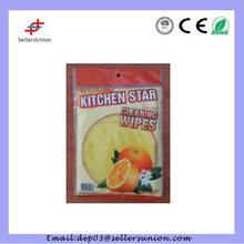6pcs kitchen star cleaning wipes