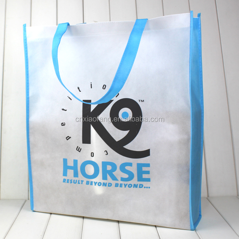 Wholesale custom silk printing non woven bag/shopping tote bag
