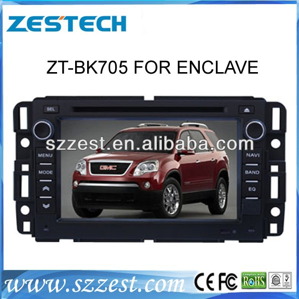 Zestech In dash Car DVD Player GPS Radio Stereo Touch Screen for Buick Enclave