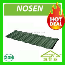 Lightweight roofing material stone coated metal roof tiles