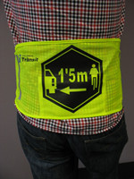 Elastic Running Reflective Vest, High Visibility Neon Sports Training, Reflective Ankle Band and Reflective Arm Band Kit