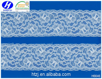 China Factory Elastic Lace Trim Sewing Accessories for Wedding Dress Bridal Gown