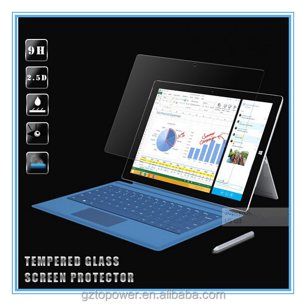 2016 hot selling 9h 0.33mm anti-scratch laptop tempered glass screen protector for lenovo laptop Huawei Samsung Asus