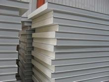 cheap fireproof rockwool insulated sandwich panel for wall at any RAL color