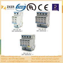 Low-voltage Three Phase quick responds Surge Protective Device