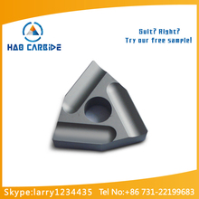 carbide turning insert used in steel semi-finish maching