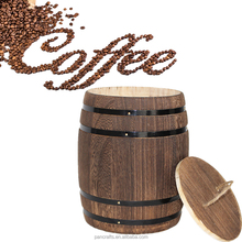 Hot Selling Cheap Coffee Small Wooden Barrel With Lid