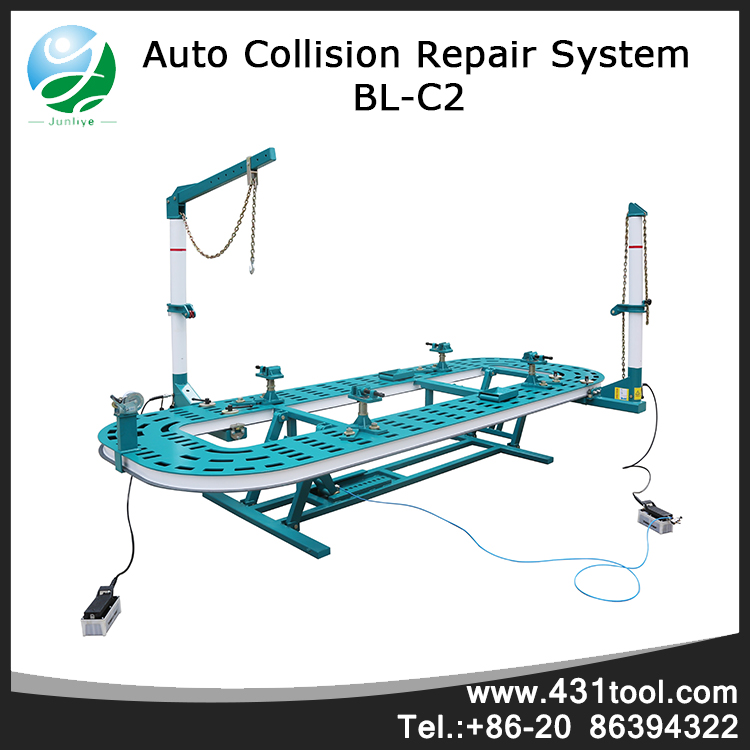 Hot sale car frame straightener puller machine