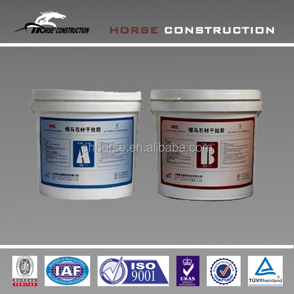 AB glue Stone Material Dry Hanging Adhesive of Ceramic tile and Concrete