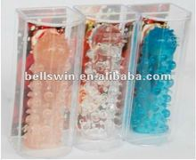 Crystal Condoms Penis Extensions Silicone Extender Sleeve