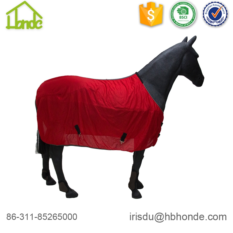 Red Summer Mesh Cloth Sunscreen Horse Rug