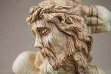 Jesus Christ Olive Wood Carved Figure