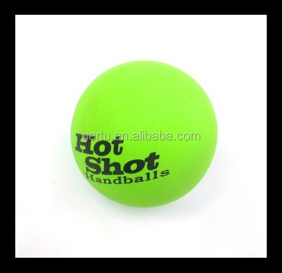 hot shot super bouncing balls ,rubber handballs