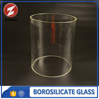 borosilicate 3.3 hot dog glass tube for food