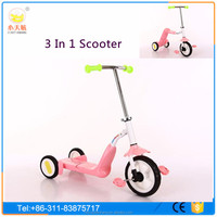 Children toys car three wheels tricycle baby scooter With Seat for kids
