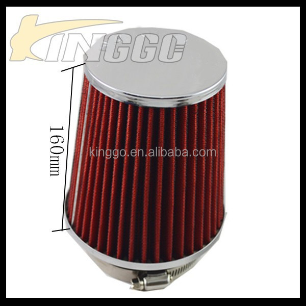 Factory Price Racing Universal Air Intake 76MM Automotive Air Filter
