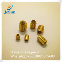 Supplier direct sales flat head knurled nut