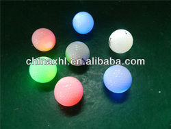 Hardness luminous golf ball for party