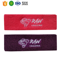 Promotion Embroidery Sport Sweatband