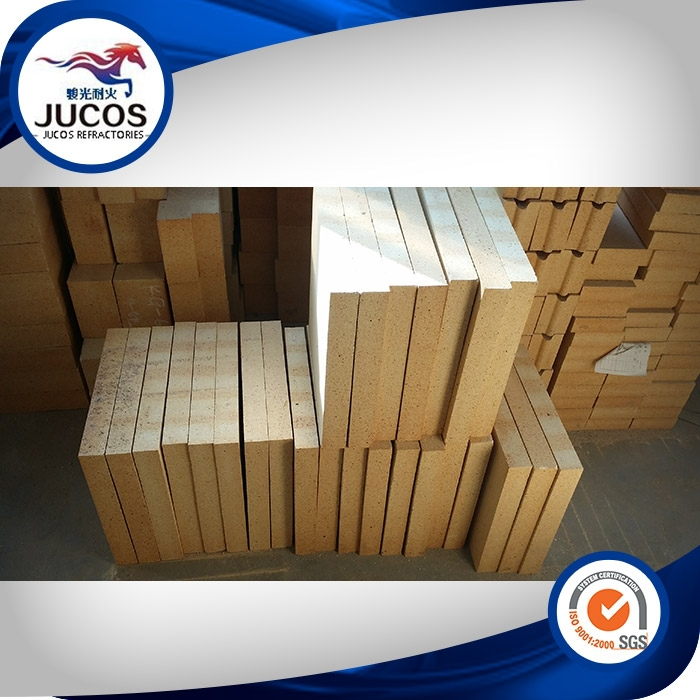 Alumina 30-48,SiO2 50-60% Manufacturing Curved Fire Brick ,Special shape brick as drawing