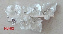 2011 new design wedding flower hair accessory