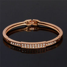 wholesale gold plated charm chain bangle