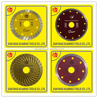 Hot pressing High quality diamond cut off turbo saw blade for deep cutting and grooving