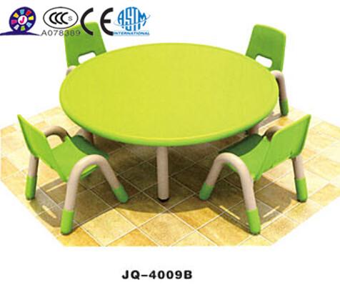 2014 nouvel l ment pour les enfants en plastique ensemble table et chaise de table ronde tables. Black Bedroom Furniture Sets. Home Design Ideas
