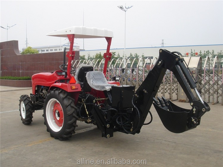 Newest CE certificated super quality mini tractor backhoe loader