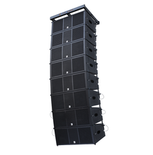 700 watt speakers professional line array+out door sound stage light+used line array