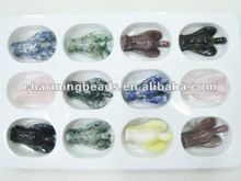 CH-JMM0026 semi precious angel carved collection,stone collection handcraf,carved stone jewelry