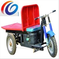 Easy operation brick factory used LC152 3 wheel electric loading klin cargo tricycle